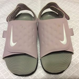 Nike Girls Sandals size 10